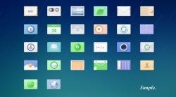 一些小清新风格的icon图标设计