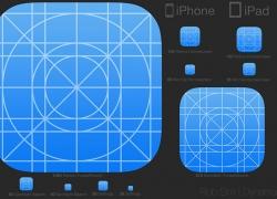 IOS7 下的icon图标设计规范原文件