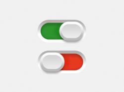 红绿开关按钮