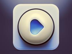 播放按钮icon图标