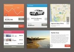 一组购物APP UI的界面设计