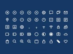 十套优质实用的UI小图标下载