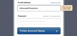 应用登录框PSD分层素材下载