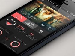 酷黑风格移动客户端UI界面设计欣赏集