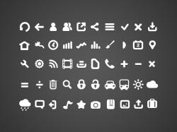 圆角风格的一组app icons图标下载