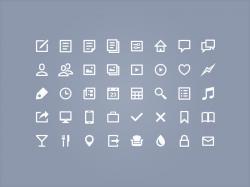 big icons APP常用小图标源文件下载