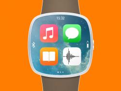 苹果智能手表iwatch图标模型