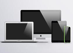 苹果系列产品贴图素材源文件