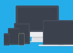 一组超酷的苹果数码产品样机多角度素材 适合APP展示