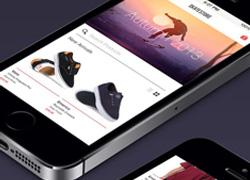 一套简约而不简单的鞋子商城APP界面设计