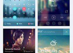 iOS 7 App 屏幕主题界面设计源文件