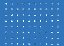 200个简洁的app常用设计图标下载