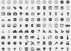 高质量免费的icon图集合集源文件