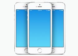 iphone 5s 手机模型psd矢量源文件下载