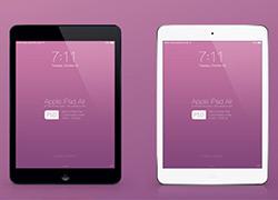 苹果iPad Air样机照片psd模板