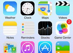 推荐一套IOS 7原生系统界面的原文件