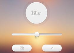 Blur iOS UI 欣赏