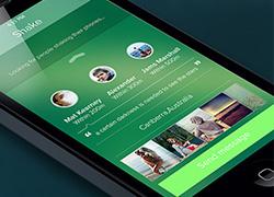 微信iOS7 概念设计稿