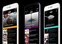 黑色风格BBC Now体育产品APP界面设计