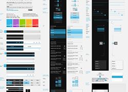 谷歌移动操作系统设计模板源文件下载