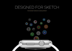 Apple watchOS APP UI设计素材包sketch下载