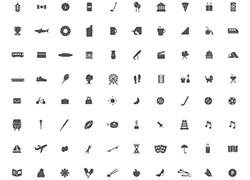 城市生活图标icon合集psd ai等源文件下载