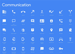 Google Material Icons 风格ai源文件下载