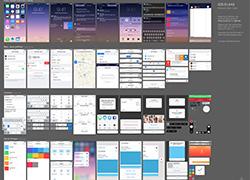 IOS9 UI kit全套素材PSD文件下载