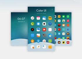 一套小清新手机主题设计UI
