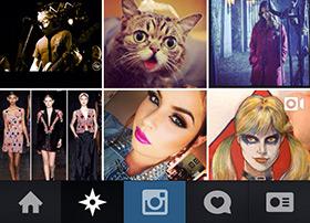 Instagram 相机摄影应用UI设计欣赏