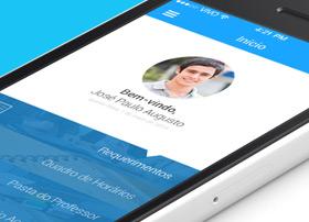 虚拟校园应用APP UI界面设计