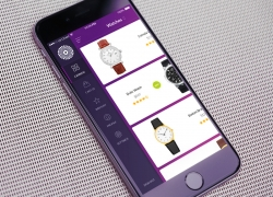 Chameleon Shop Menu购物商城菜单界面APP UI设计