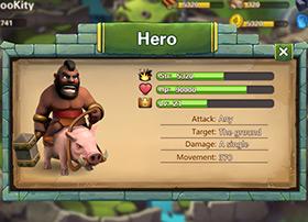 欧美塔防游戏界面设计