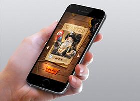 pirate legend-仿古风格游戏界面设计