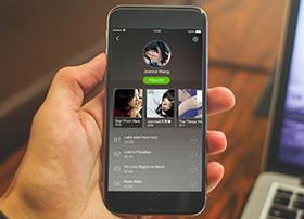 2015年Dribbble优秀手机UI设计作品欣赏
