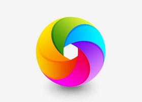 多彩圆环ICON图标制作教程