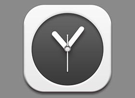 ICON设计教程:精制的时钟icon图标教程