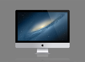 iMac高品质psd源文件下载
