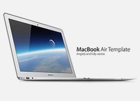 MacBook Air 高品质苹果电脑模型下载