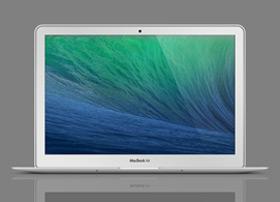 MacBook Air 苹果笔记本模型PSD源文件下载