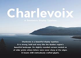 设计师必备:Charlevoix beautiful字体下载