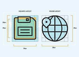 作为UI设计师都应该知道的ICON小知识
