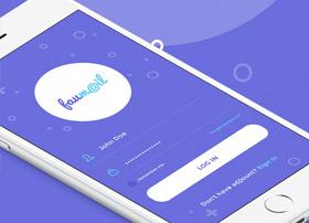 faumail邮件产品app ui psd完整版下载