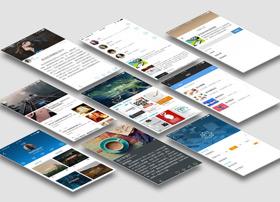 阅读类产品C优典APP UI界面设计欣赏