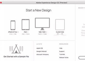 Adober XD神器 全面打通界面、交互、原型制作