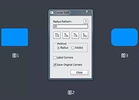 Photoshop圆角编辑功能增强插件-Corner Editor 2015 最新版下载