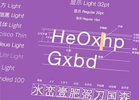 干货-超份详尽全面的UI设计字体与排版指南