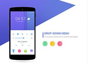 DU LOCKER 1.0锁屏工具产品UI界面设计