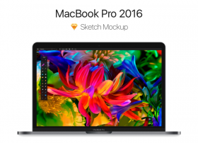 2016款Macbook Pro sketch模型下载