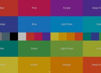 学会从零开始进行APP UI配色